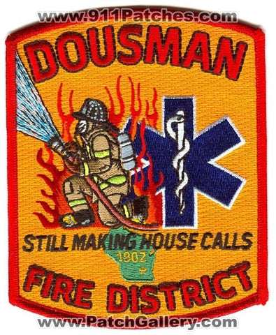 Dousman Fire District Patch Wisconsin WI
