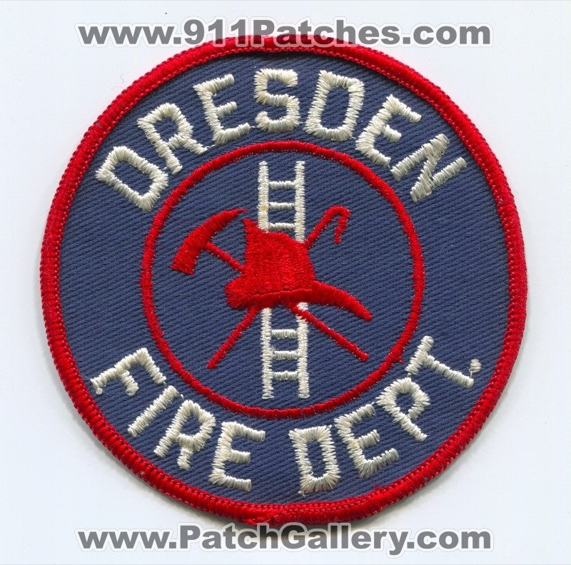 Dresden Fire Department Patch Unknown State
