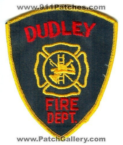 Dudley Fire Department Patch Unknown State