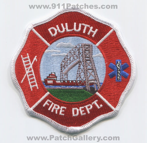 Duluth Fire Department Patch Minnesota MN
