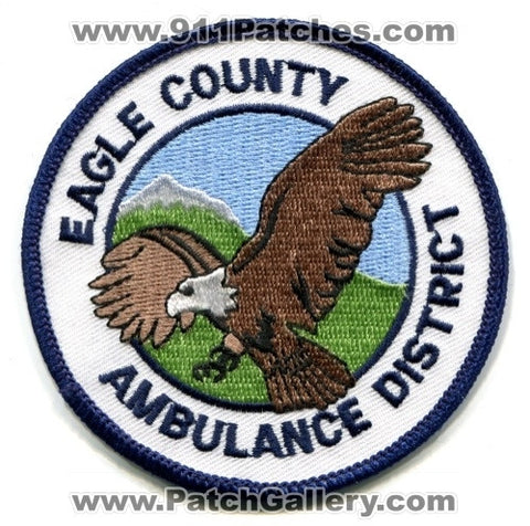 Eagle County Ambulance District EMS Patch Colorado CO