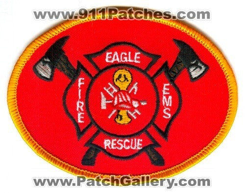 Eagle Fire Rescue EMS Department Patch Wisconsin WI