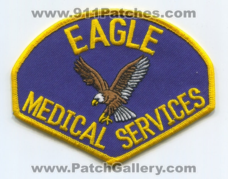 Eagle Emergency Medical Services EMS Patch Unknown State