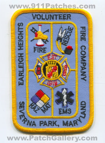 Earleigh Heights Volunteer Fire Company Severna Park Patch Maryland MD