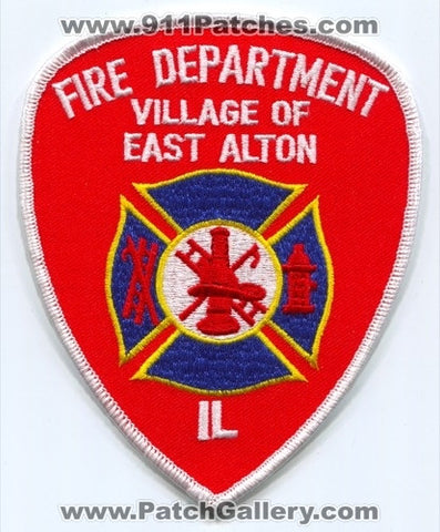 East Alton Fire Department Patch Illinois IL