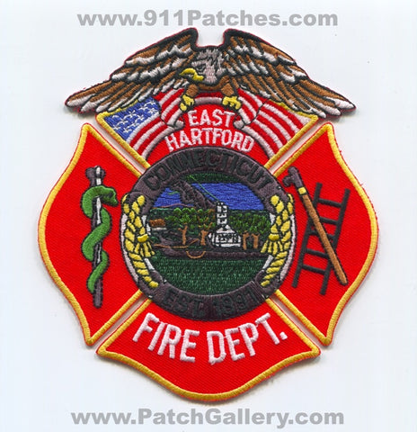 East Hartford Fire Department Patch Connecticut CT