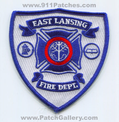 East Lansing Fire Department Patch Michigan MI