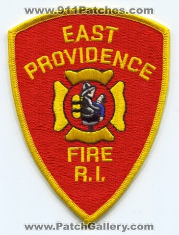 East Providence Fire Department Patch Rhode Island RI