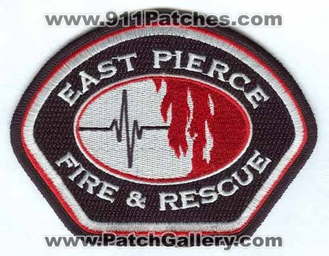 East Pierce Fire and Rescue Department Patch Washington WA