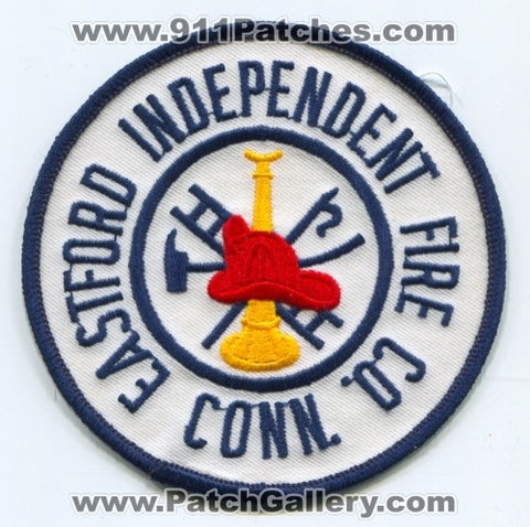 Eastford Independent Fire Company Patch Connecticut CT