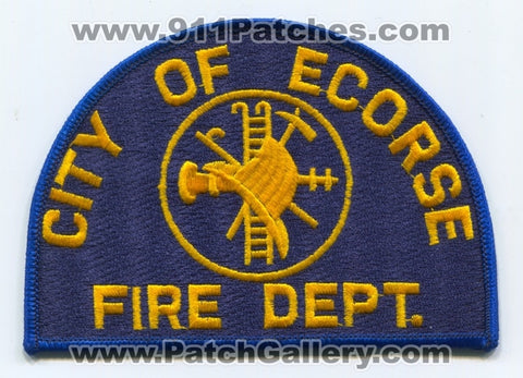 Ecorse Fire Department Patch Michigan MI