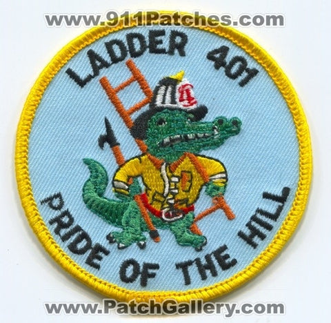 Edge Hill Fire Department Ladder 401 Patch Pennsylvania PA