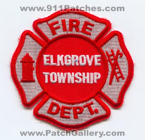 Elkgrove Township Fire Department Patch Illinois IL
