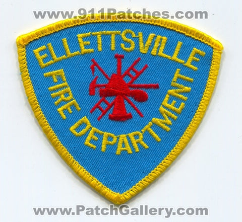 Ellettsville Fire Department Patch Indiana IN