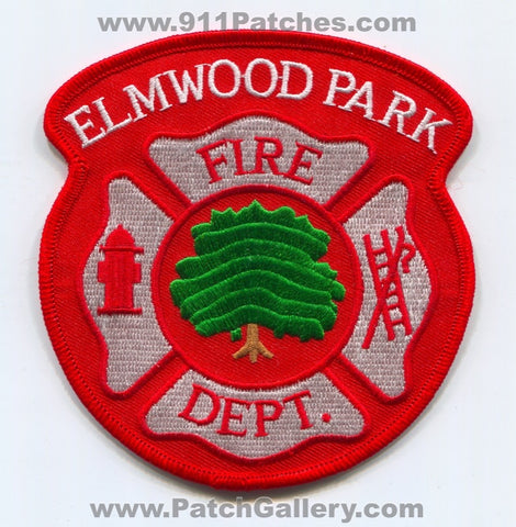 Elmwood Park Fire Department Patch Illinois IL