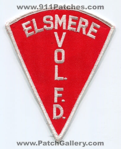 Elsmere Volunteer Fire Department Patch Unknown State