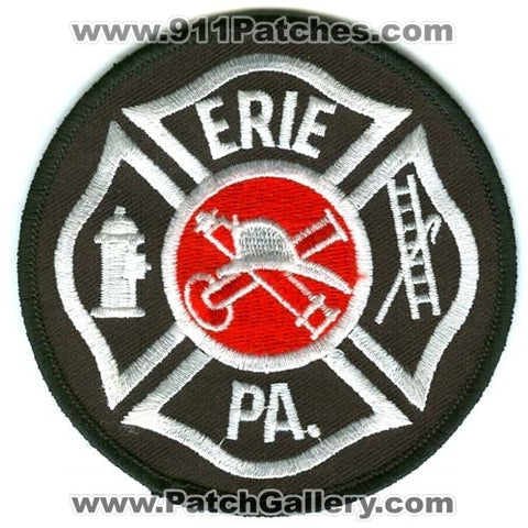 Erie Fire Department Patch Pennsylvania PA