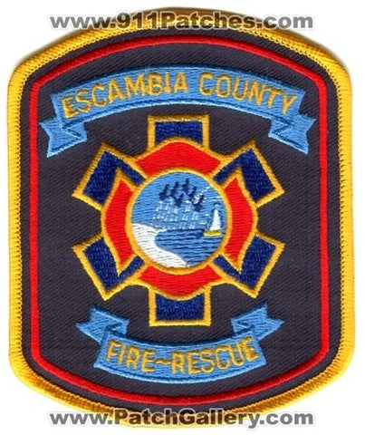Escambia County Fire Rescue Department Patch Florida FL