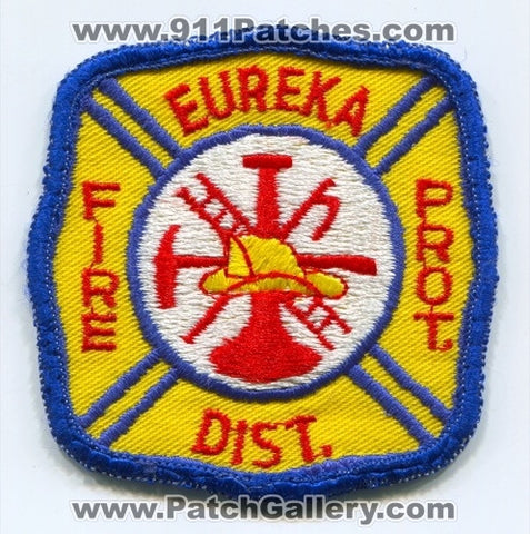 Eureka Fire Protection District Patch Missouri MO