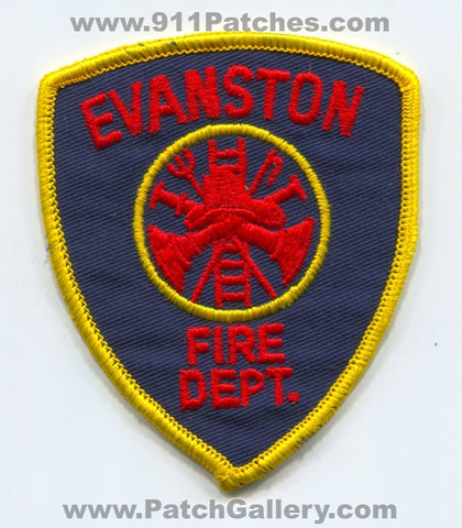 Evanston Fire Department Patch Wyoming WY
