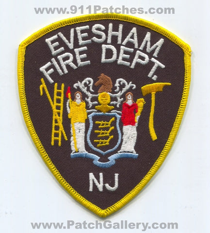 Evesham Fire Department Patch New Jersey NJ