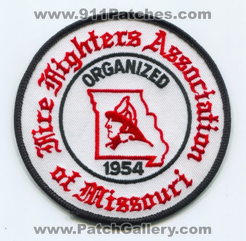 Fire Fighters Association of Missouri Patch Missouri MO