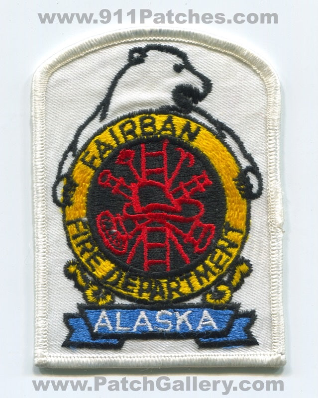 Fairbanks Fire Department Patch Alaska AK