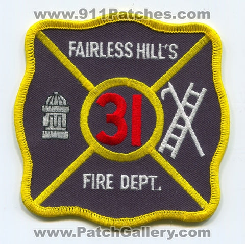 Fairless Hills Fire Department 31 Patch Pennsylvania PA