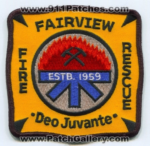 Fairview Fire Rescue Department Patch North Carolina NC