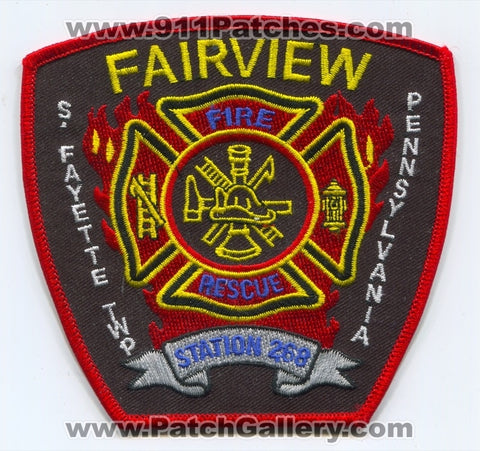 Fairview Fire Rescue Department Station 268 Patch Pennsylvania PA
