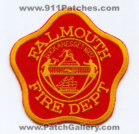 Falmouth Fire Department Patch Massachusetts MA