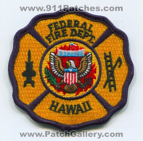 Federal Fire Department Patch Hawaii HI