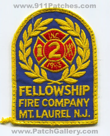 Fellowship Fire Company 2 Mount Laurel Patch New Jersey NJ