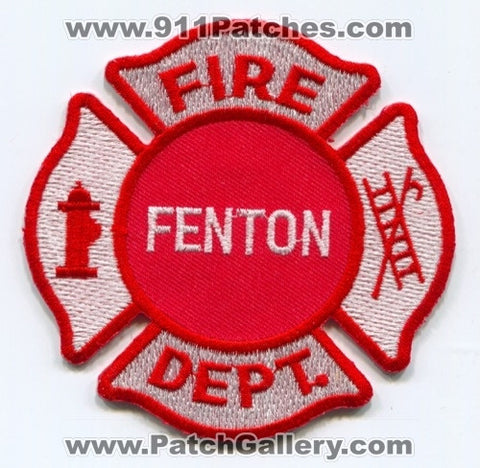 Fenton Fire Department Patch Unknown State