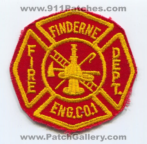 Finderne Fire Department Engine Company 1 Patch New Jersey NJ
