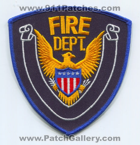 Fire Department Patch No State Affiliation