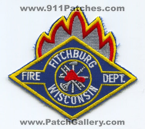 Fitchburg Fire Department Patch Wisconsin WI