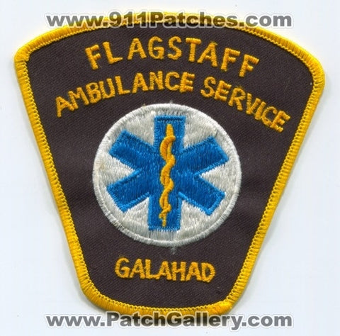 Flagstaff Ambulance Service Galahad EMS Patch Arizona AZ
