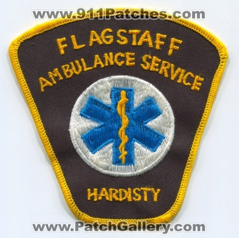Flagstaff Ambulance Service Hardisty EMS Patch Arizona AZ
