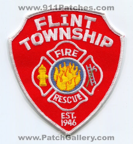 Flint Township Fire Rescue Department Patch Michigan MI