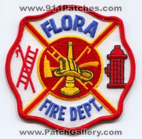 Flora Fire Department Patch Unknown State