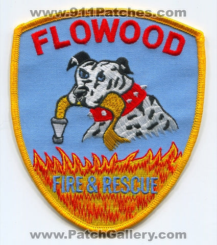 Flowood Fire and Rescue Department Patch Mississippi MS