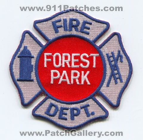 Forest Park Fire Department Patch Illinois IL