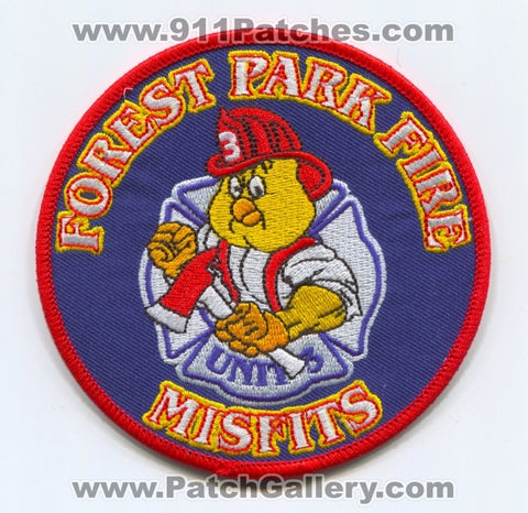 Forest Park Fire Department Unit 3 Patch Ohio OH