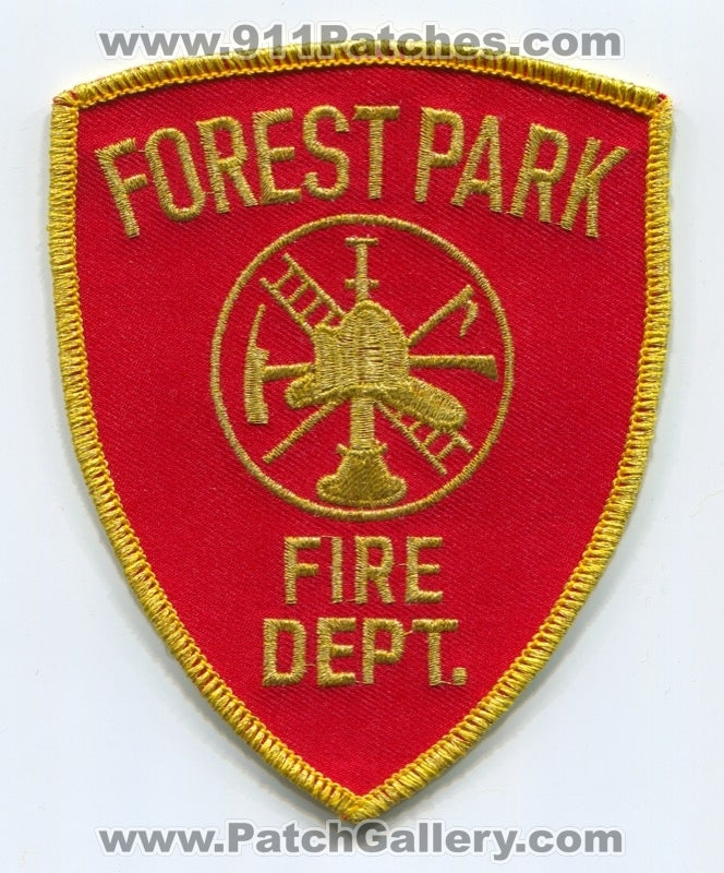 Forest Park Fire Department Patch Ohio OH