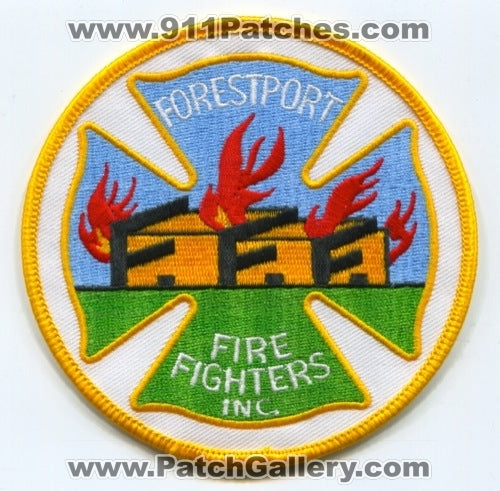 Forestport Fire Fighters Inc Fire Department Patch New York NY