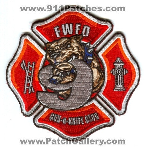 Fort Wayne Fire Department Station 9 Patch Indiana IN