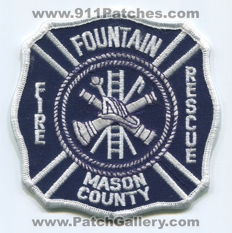 Fountain Fire Rescue Department Mason County Patch Michigan MI
