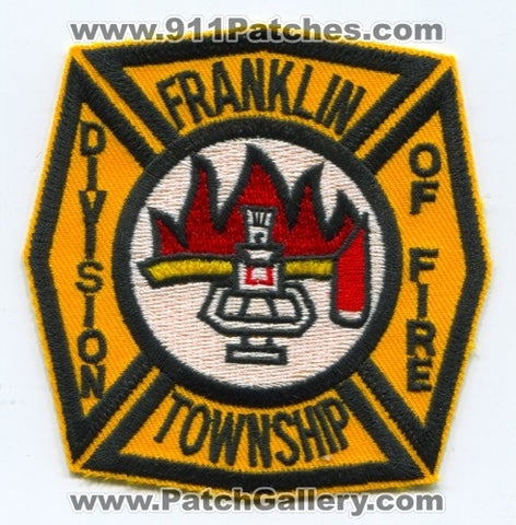 Franklin Township Division of Fire Patch Unknown State