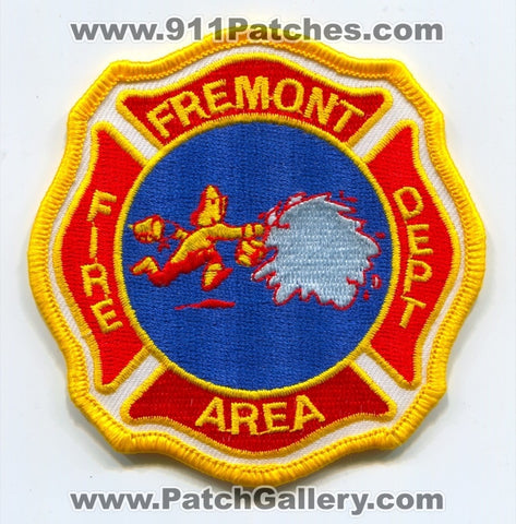 Fremont Area Fire Department Patch Unknown State